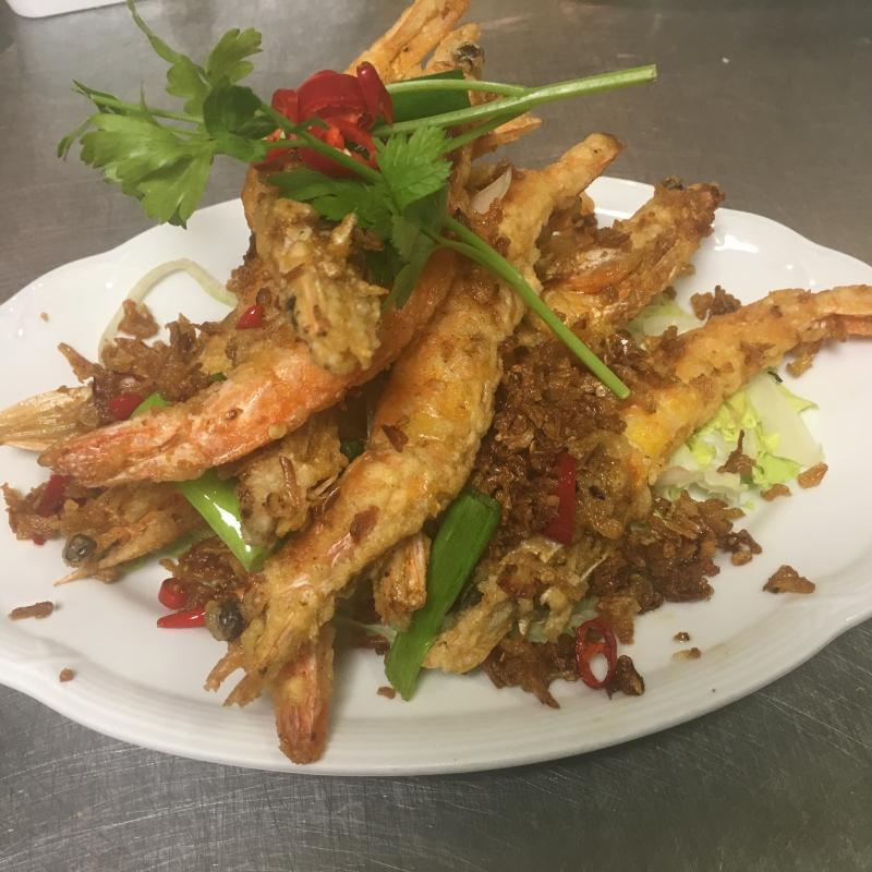 虾 / Garnalen gerechten