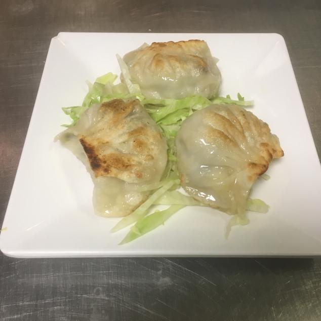 锅贴Gebakken dumpling