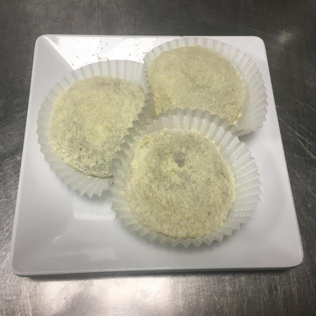 檑沙汤圆Deeg met zwarte sesam pasta
