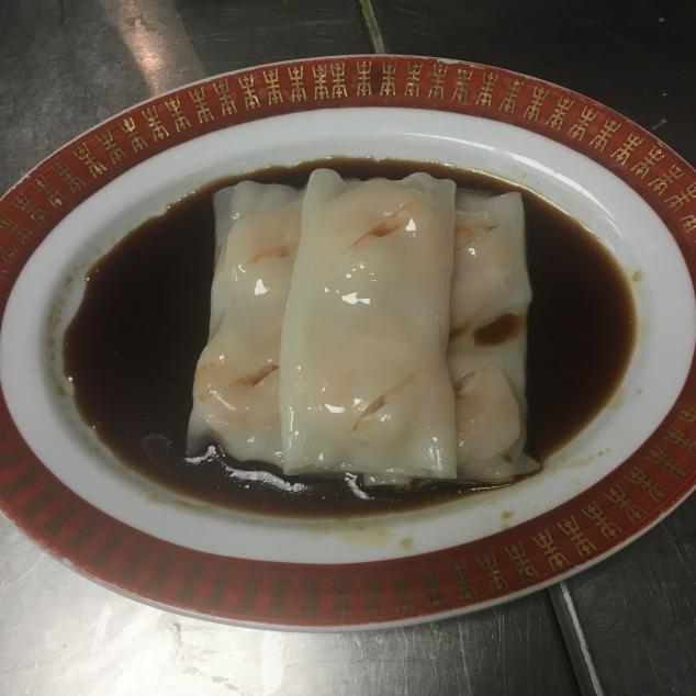 鲜虾肠粉Flensjes met garnalen
