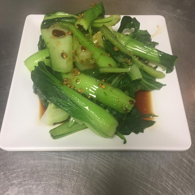 灼时蔬菜蚝油Chinees groenten met oestersaus