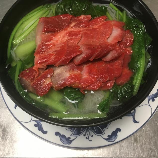 叉烧汤面Cha siew met bami soep