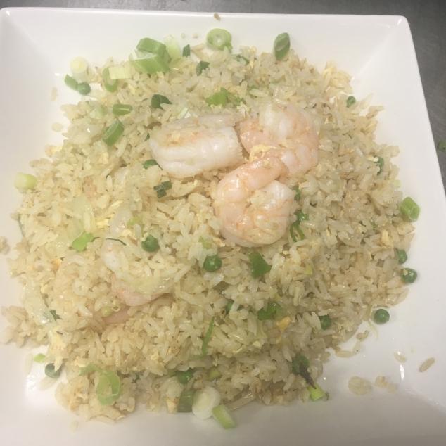 大虾炒饭Nasi met scampis