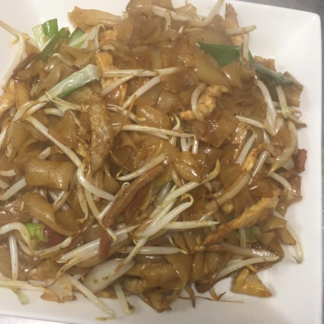 肉丝炒河Varkensvlees met rijststick