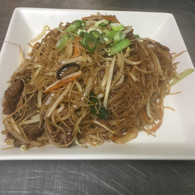 干炒牛米粉 Rundvlees met mihoen