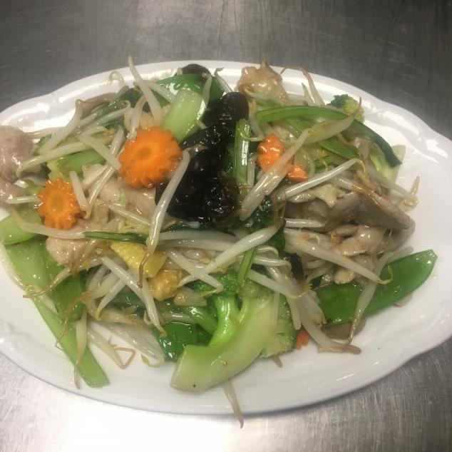雜菜鸡肉  Chinese groente mix kipvlees