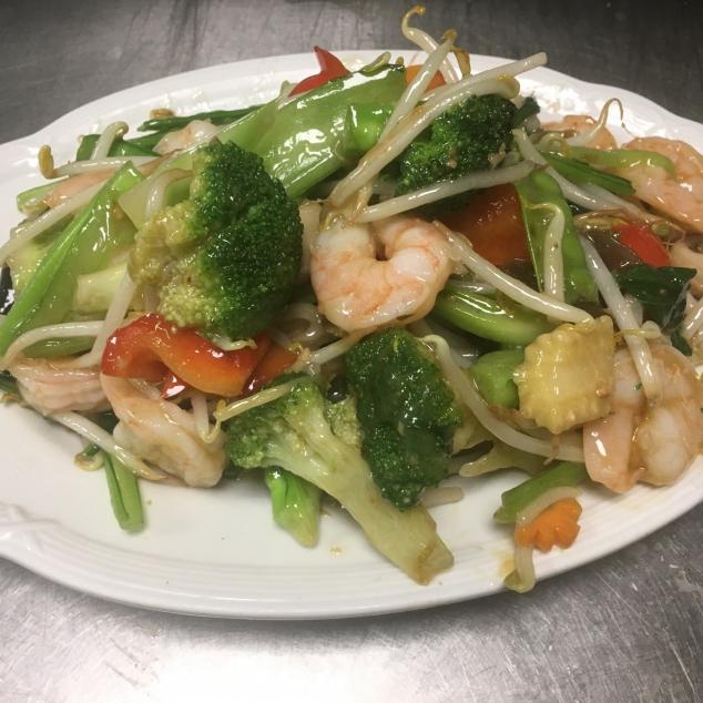 雜菜虾Chinese groente mix garnalen