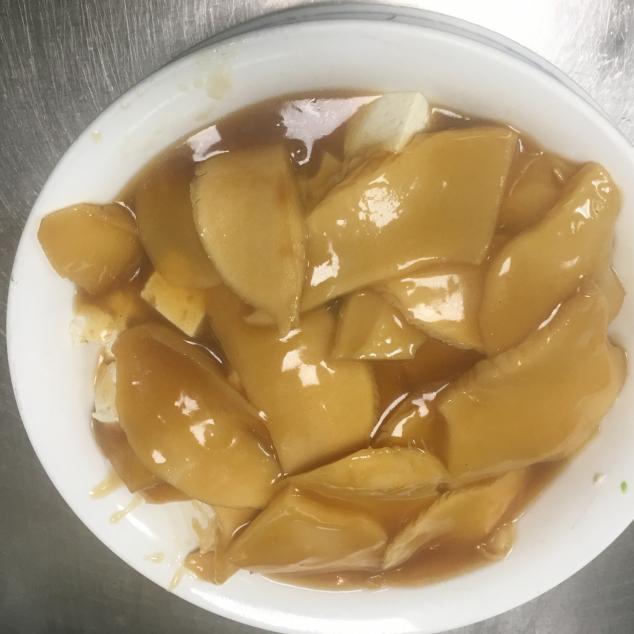 灵芝菇扒豆腐Ling zhi champignons met tofu