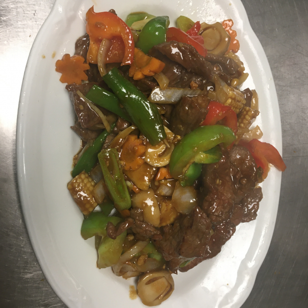 蒜蓉牛Rundvlees met knoflook saus