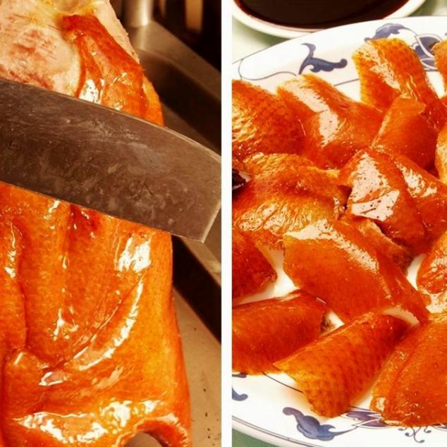廣東片皮鴨全餐Kantonese gesneden eend rijstafel 4-6 personen