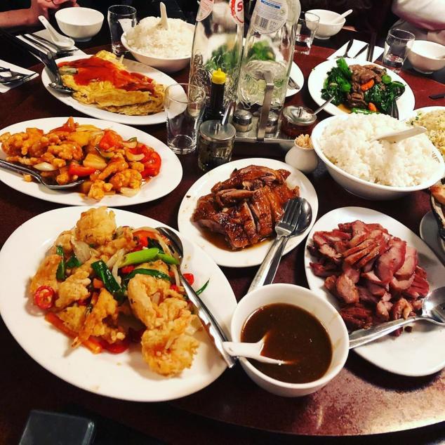 合家歡套餐Complete familie rijstafel 10 personen